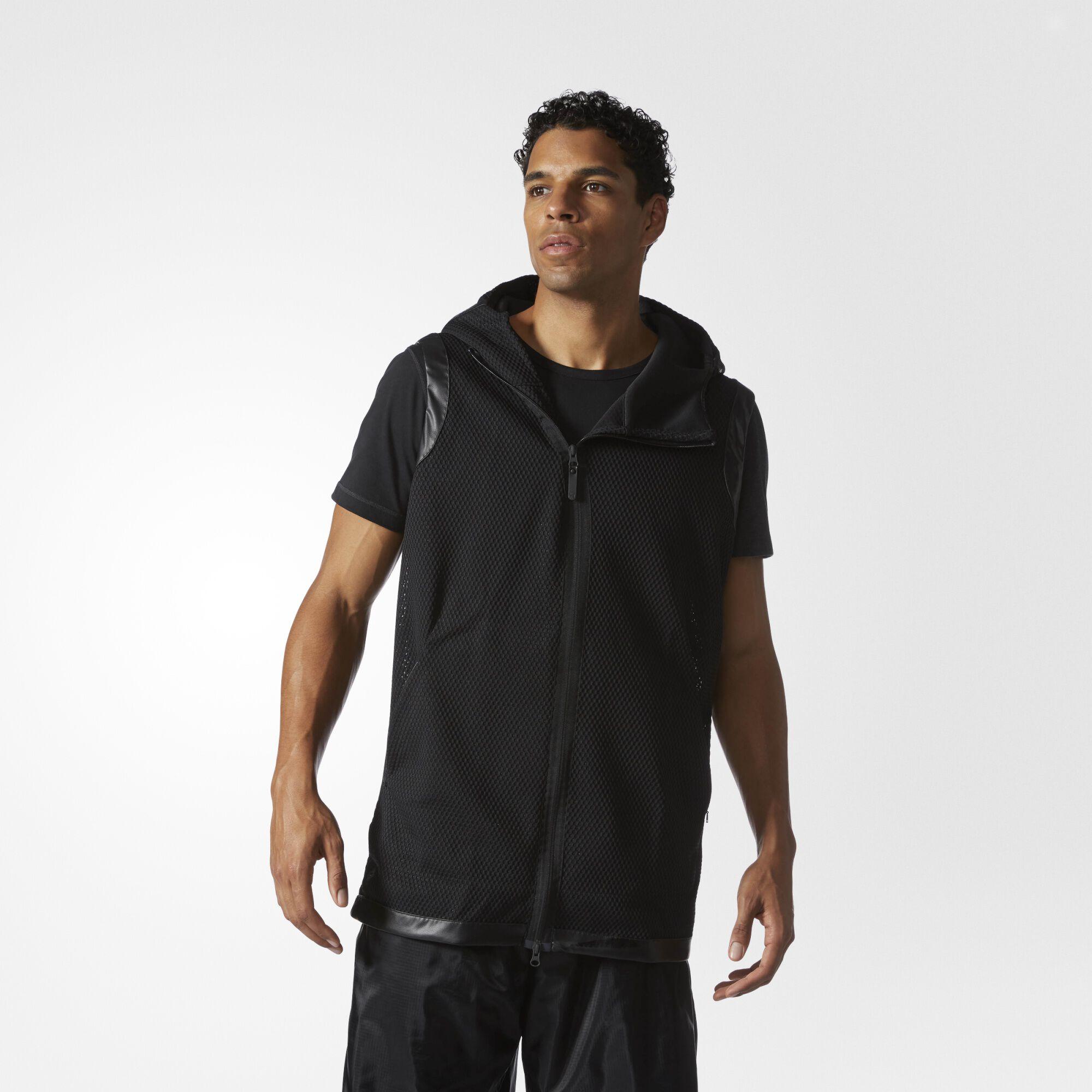 adidas black hoodie mens