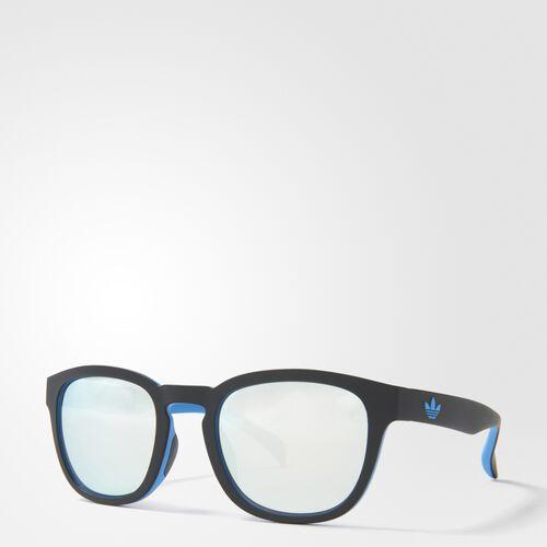 adidas - AOR001 Sunglasses Black  /  Columbia Blue  /  Metallic Silver BA7031