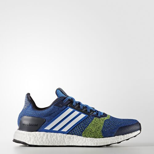 adidas - Ultra Boost ST Shoes Blue  /  Running White  /  Electricity BA7837