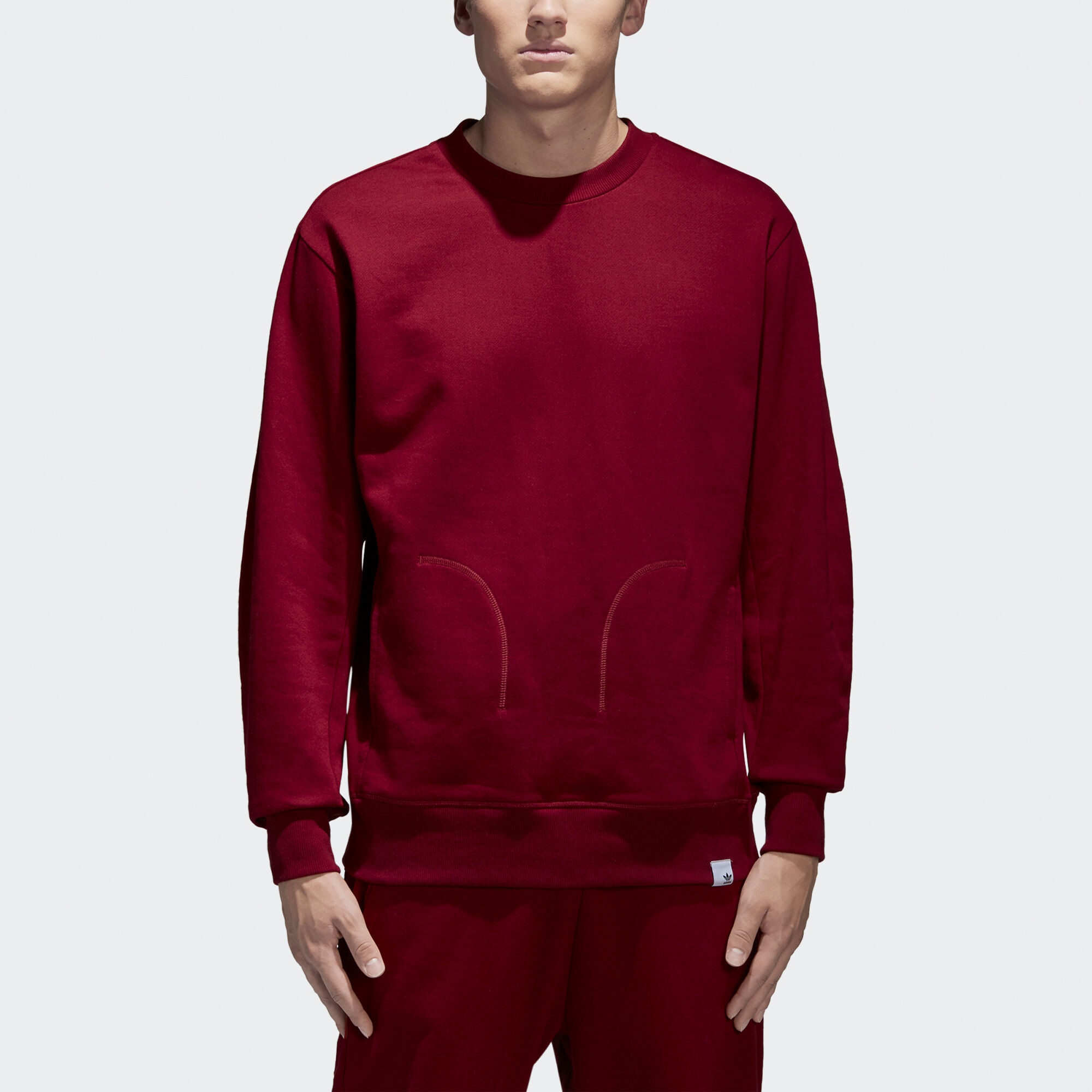 a6df3198d3c7 Buy adidas red sweater   OFF78% Discounted