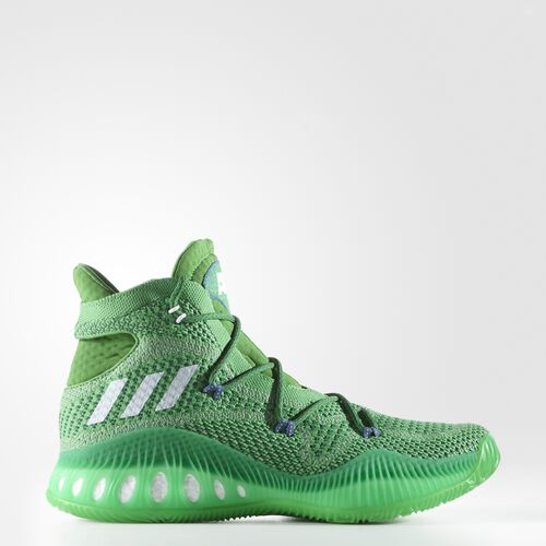 adidas - Crazy Explosive Primeknit Shoes Evergreen  /  Running White  /  Forest BW0626