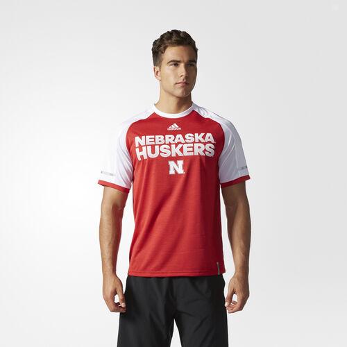 adidas - Cornhuskers Player Crew Tee MULTI AT2970
