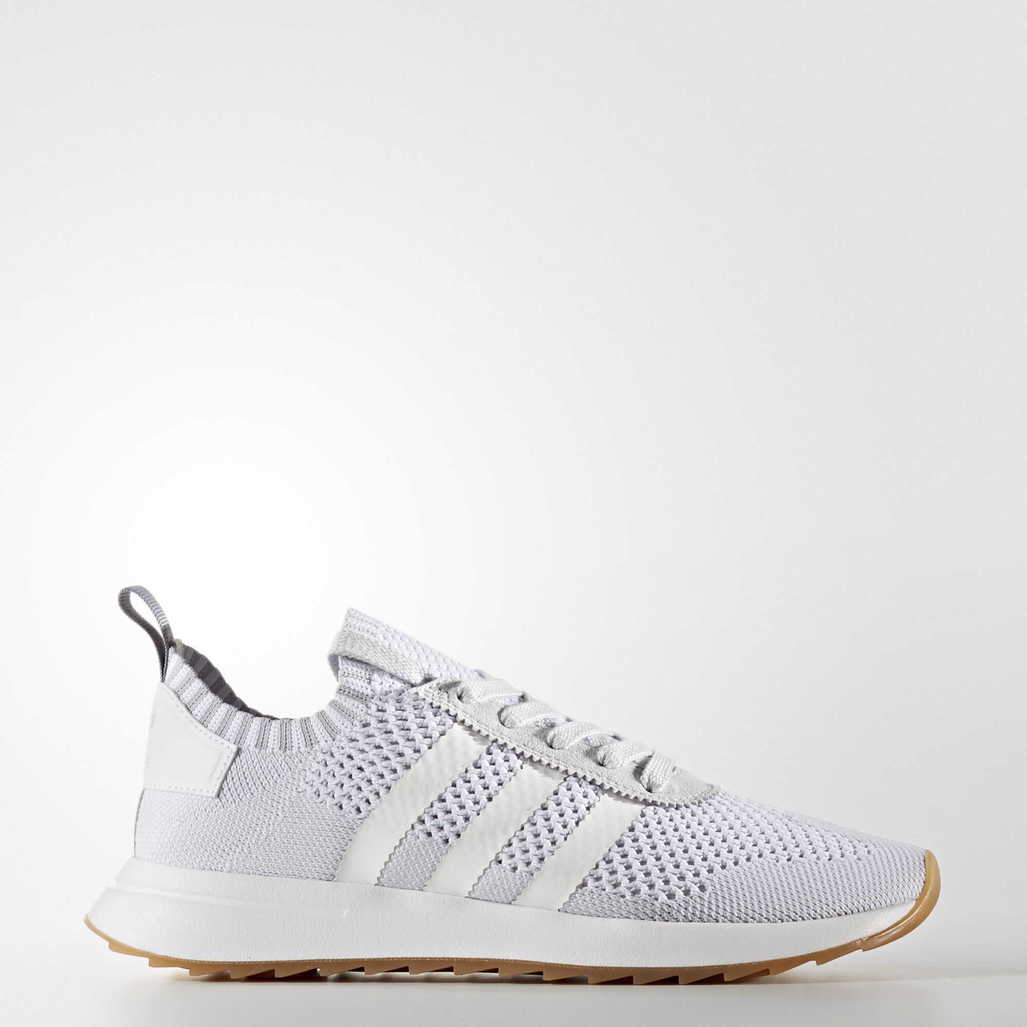 sports shoes 55e8e 33e2c ... adidas - Flashback Primeknit Shoes Running White Ftw   Running White    Clear Grey BY9099 ...