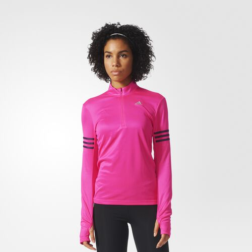 adidas - Response Tee Shock Pink  /  Mineral Red AI8284