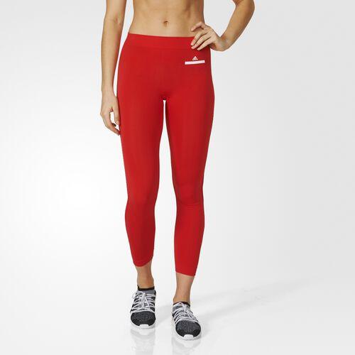 adidas - Essentials Seamless Mesh Tights Red AX7342