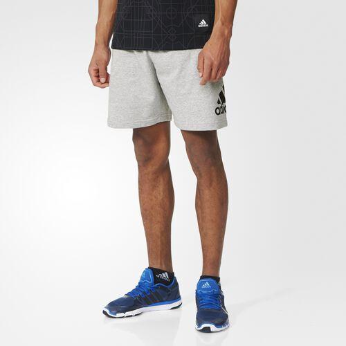 adidas - Sport Essentials French Terry Shorts Medium Grey Heather  /  Black AY9083