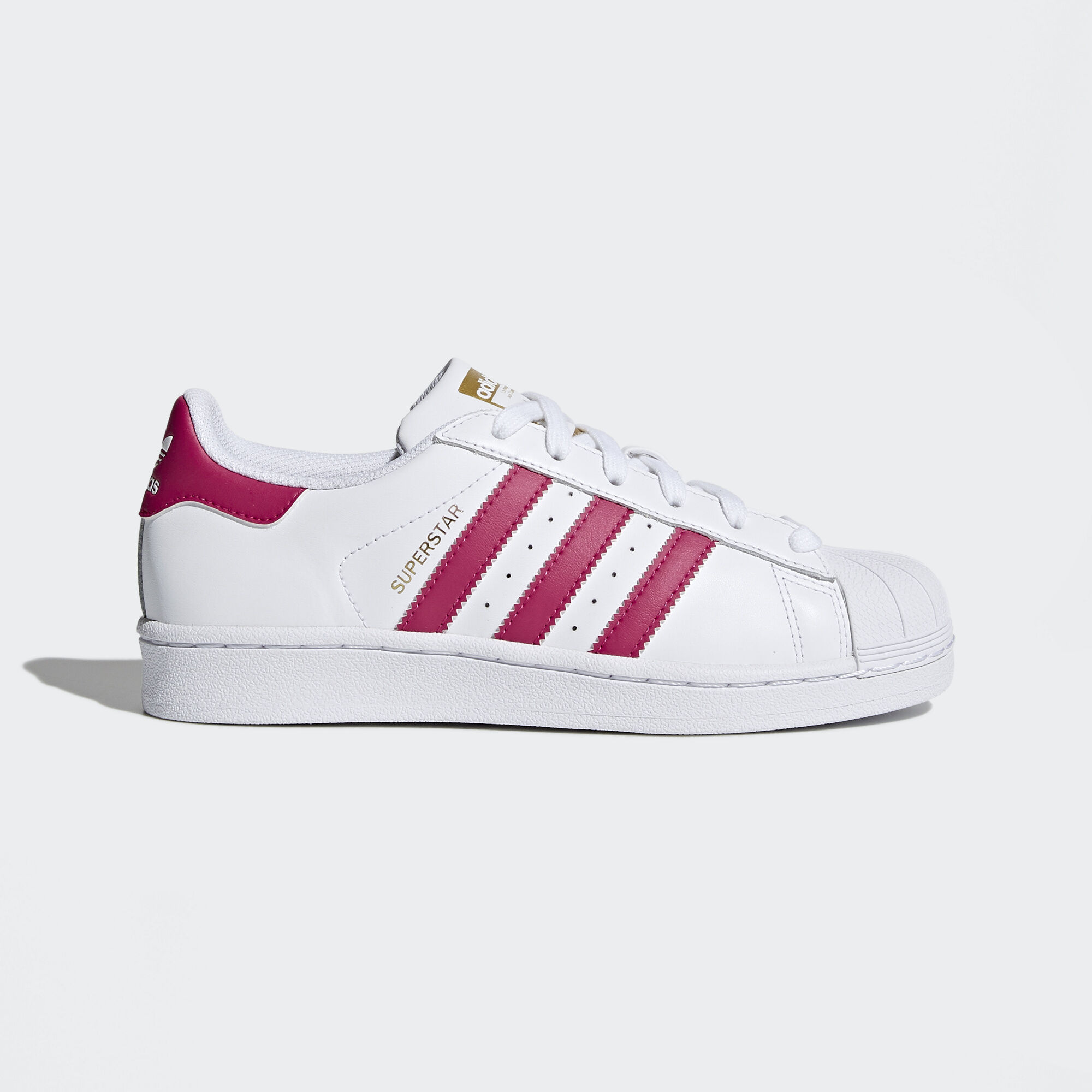 pink adidas superstars for women