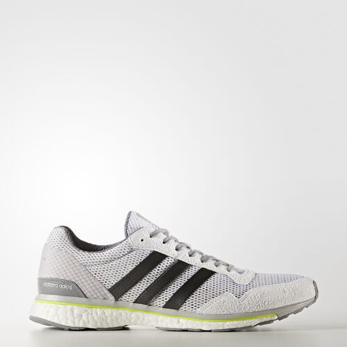 adidas - adizero Adios 3 Shoes Running White  /  Electricity BB3313