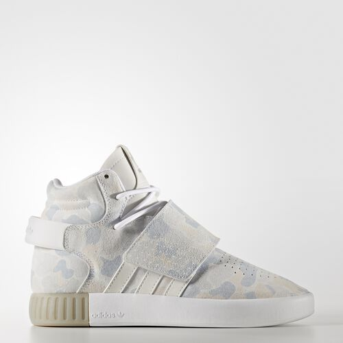 adidas - Tubular Invader Strap Shoes Running White Ftw  /  Running White  /  Light Solid Grey BB0393