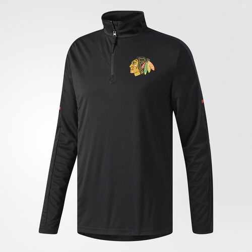 adidas - Blackhawks Authentic Pro Jacket Black CC8601