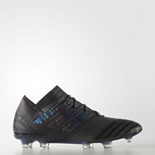 adidas - Nemeziz 17.1 Firm Ground Cleats Core Black  /  Black  /  Black BB6076