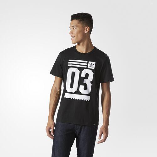 adidas - Toolkit Tee Black  /  White BJ8689