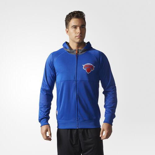 adidas - Knicks Pre-Game Jacket New York Knicks  /  Blue Solid BK1603
