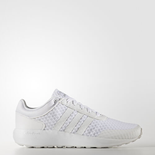 adidas - Cloudfoam Race Shoes Running White Ftw  /  Running White Ftw  /  Clear Onix B74728