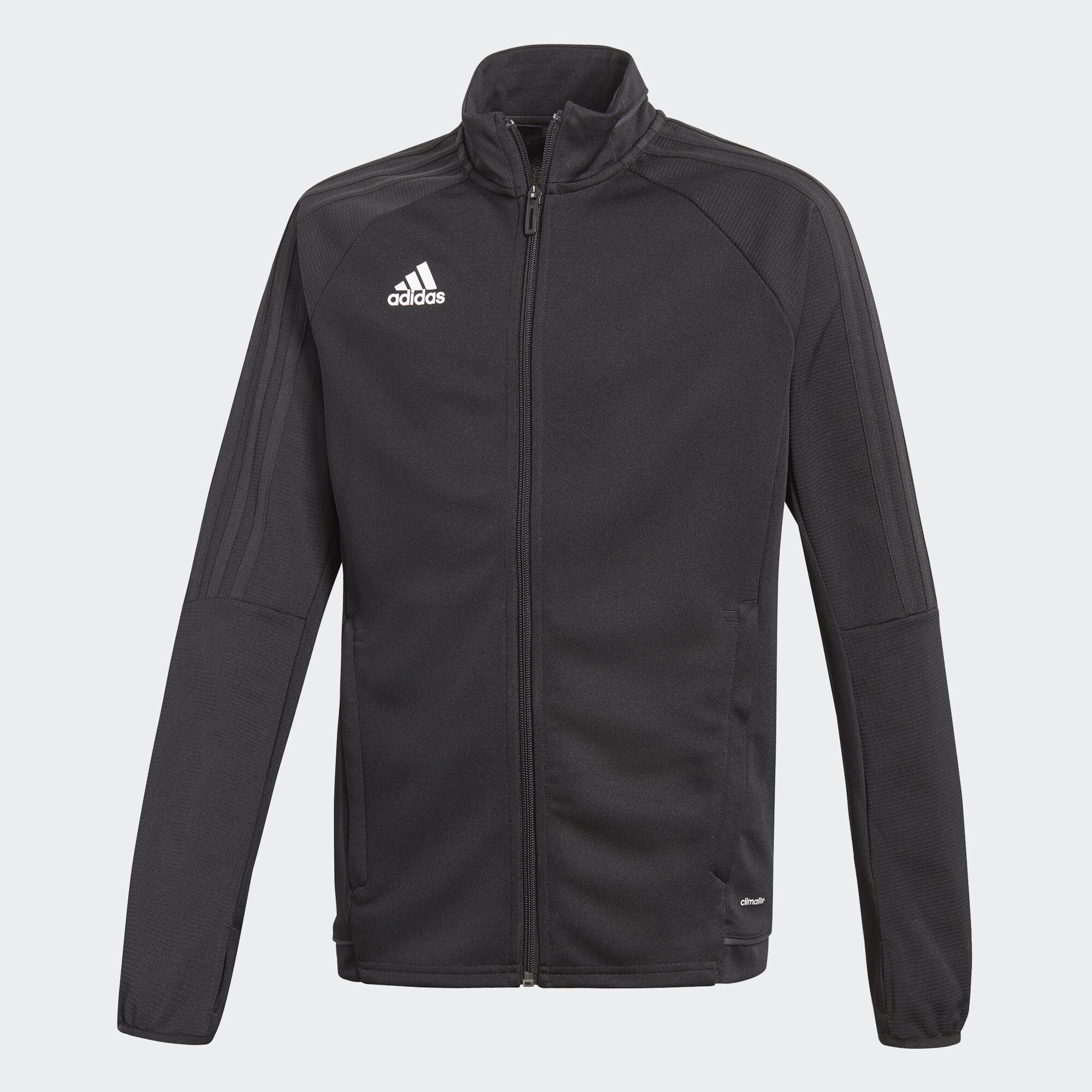 Adidas jacket - Adidas Tiro 17 Training Jacket Black White Bj9296