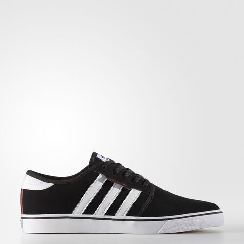 adidas - Seeley Shoes Core Black  /  Running White  /  Scarlet BY4007
