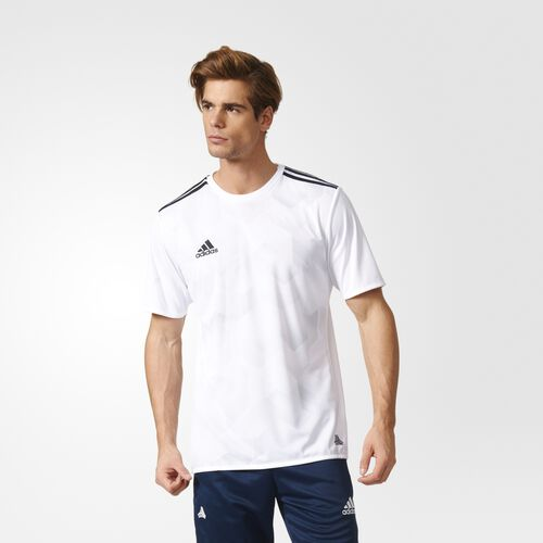 adidas - Tango Cage Graphic Jersey White  /  Clear Grey BK3755
