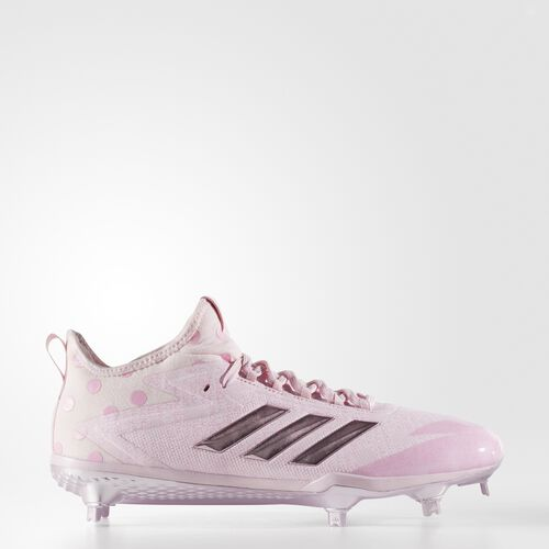 adidas - adizero Afterburner 4 Cleats Clear Pink  /  Pure Pink  /  Clear Light Pink CG4540