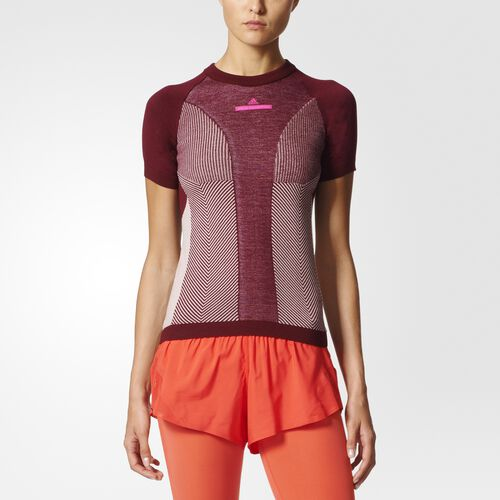 adidas - Run Ultra Tee Cherry Wood  /  Rose BP7103