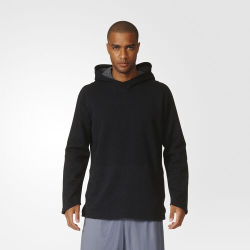 adidas - Cross-Up Pullover Hoodie Black AZ1516