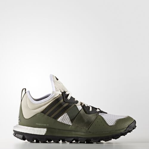 adidas - Response Boost Trail Shoes Clear Brown  /  Neo Iron  /  Base Green BB3935