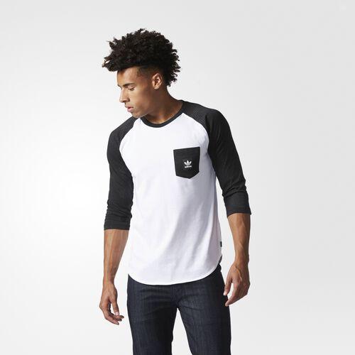 adidas - Word Camouflage Pocket Tee Black  /  White  /  Carbon BJ8675