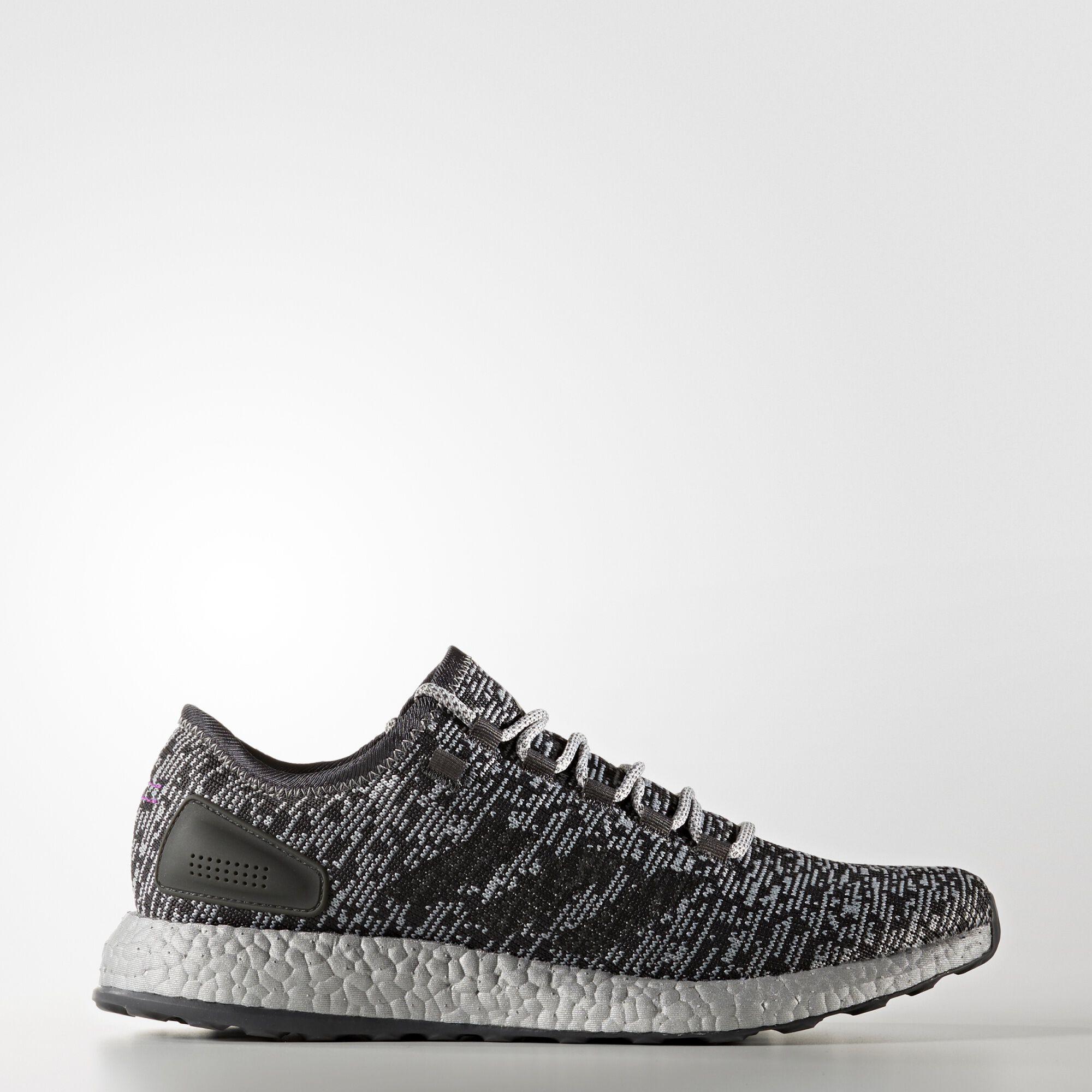 Men S Adidas Pureboost Running Shoes Untied
