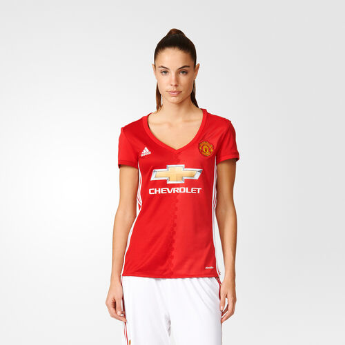 adidas - Manchester United FC Home Replica Jersey Real Red  /  Power Red  /  White AI6709
