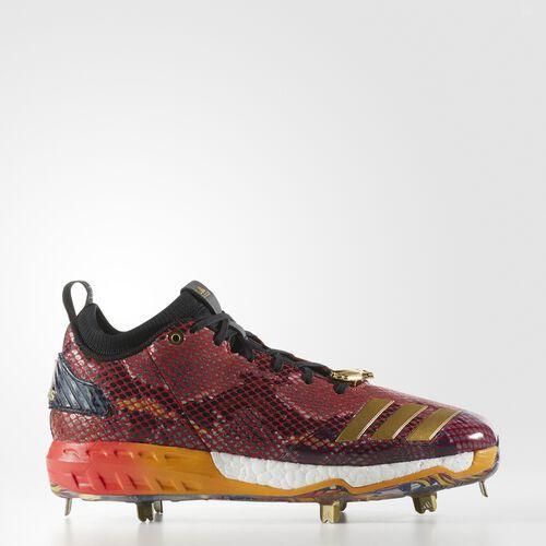 adidas - Boost Icon 3 Atlanta Cleats Power Red  /  Metallic Gold  /  Black CG4856