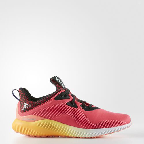 adidas - Alphabounce Shoes Shock Red  /  Crystal White B54204