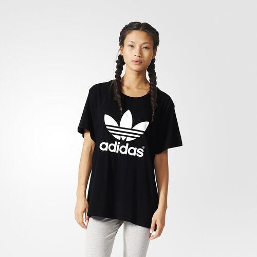 adidas - Boyfriend Trefoil Tee Black AJ8351