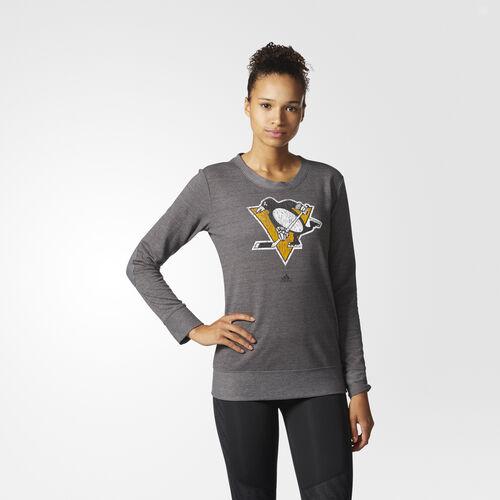 adidas - Penguins Distressed Logo Sweatshirt White CC2189