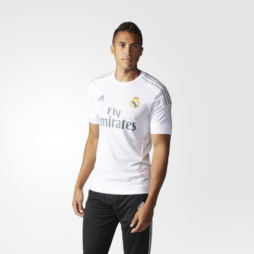 adidas - Real Madrid Home Authentic Jersey White S12654