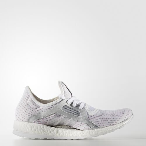 adidas - PureBoost X Shoes Running White Ftw  /  Silver Metallic BB4016