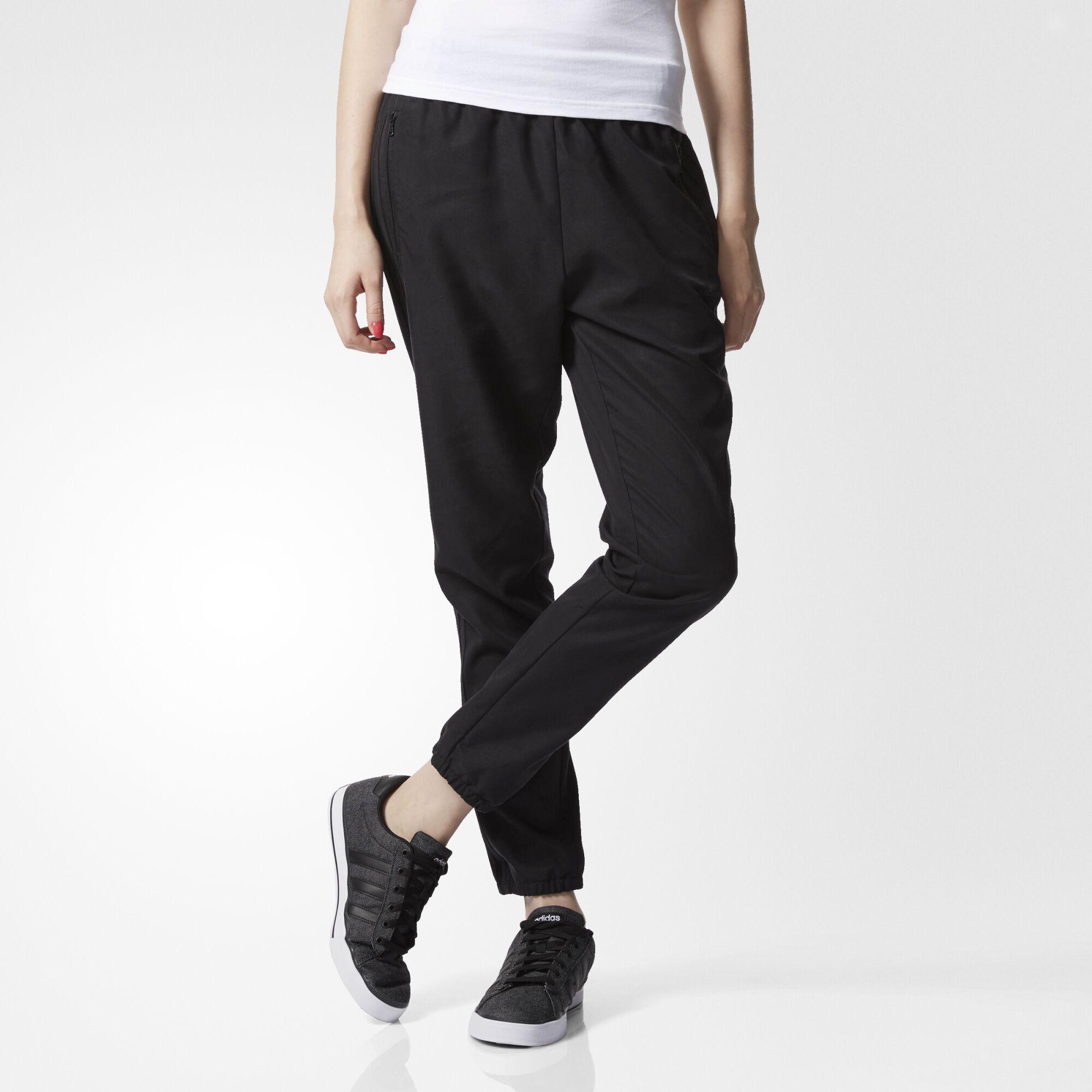 Unique Adidas Women Black Yoga Track Pants  S04776  Price In India