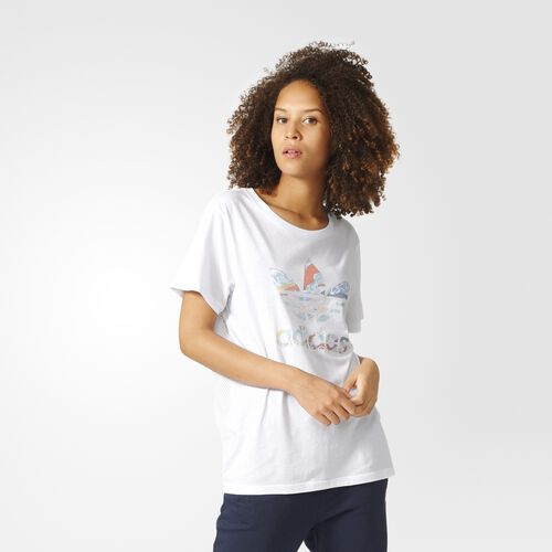 adidas - Boyfriend Trefoil Tee White BJ8283