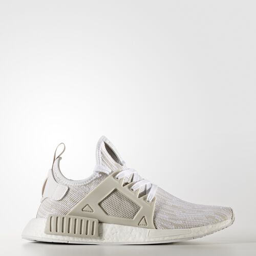 adidas - NMD_XR1 Primeknit Shoes Running White Ftw  /  Pearl Grey  /  Pearl Grey BB2369