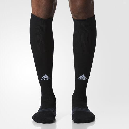 adidas - Metro IV Soccer Socks 1 Pair Black  /  White  /  Phantom S48951