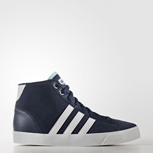 adidas - Cloudfoam Daily QT Mid Shoes Collegiate Navy  /  Running White Ftw  /  Clear Aqua AW4215