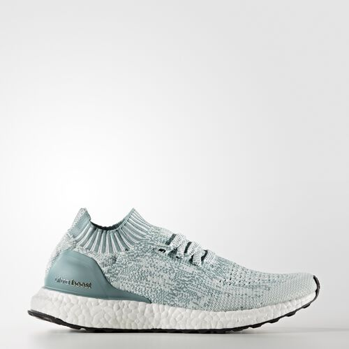 adidas - Ultra Boost Uncaged Shoes Crystal White  /  Vapour Green BB3905
