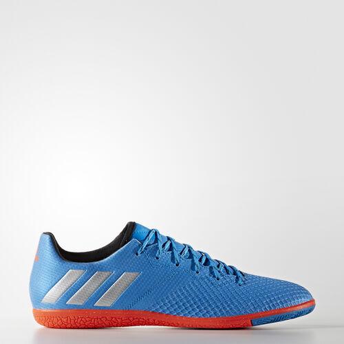 adidas - Messi 16.3 Indoor Shoes Shock Blue  /  Matte Silver  /  Black S79636