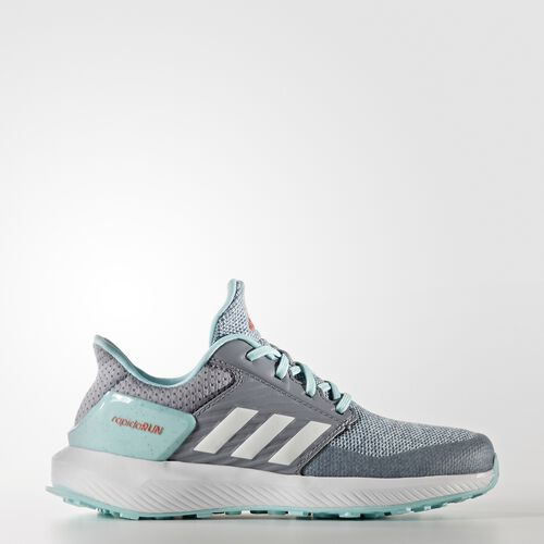 adidas - RapidaRun Shoes Grey  /  Running White Ftw  /  Clear Aqua BA9432
