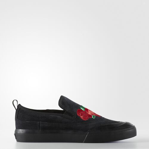 adidas - Matchcourt Slip Shoes Core Black  /  Scarlet  /  Light Purple CG4275