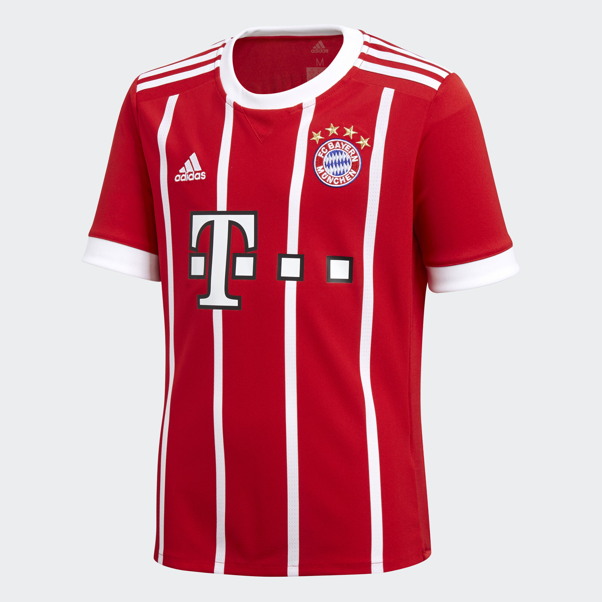 adidas fc bayern munich home replica jersey red adidas us. Black Bedroom Furniture Sets. Home Design Ideas