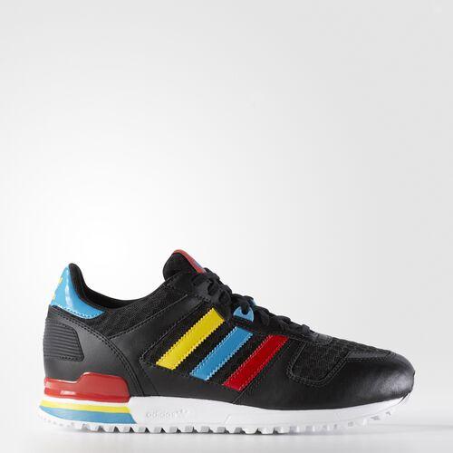 adidas - ZX 700 Shoes Core Black  /  Vivid Red BA9311