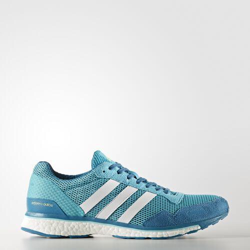 adidas - adizero Adios 3 Shoes Energy Blue  /  Running White CG3043