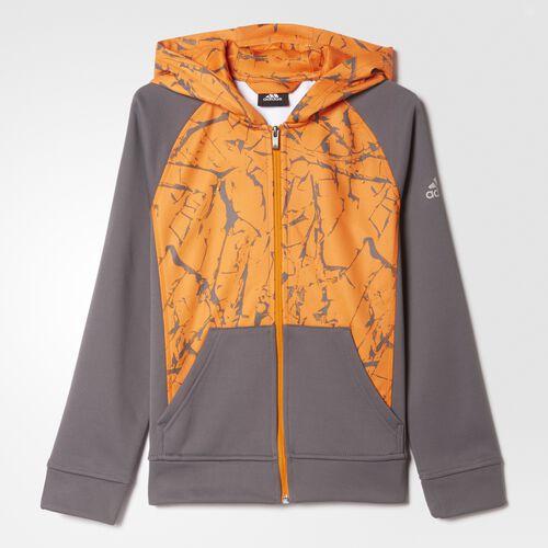adidas - Crackle Hoodie Grey BH3296