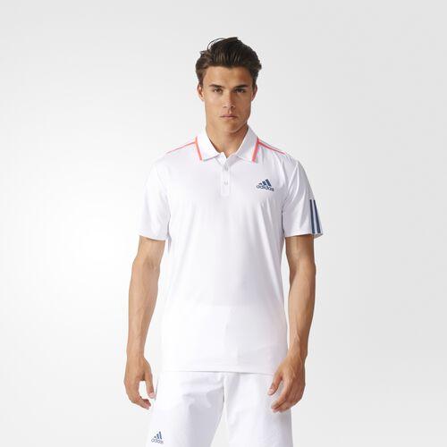 adidas - Barricade Polo Shirt White AX8097