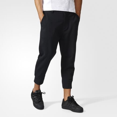 adidas - Los Angeles Seven-Eighth Track Pants Black BK7700