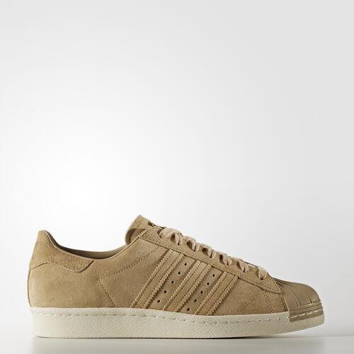 adidas - Superstar 80s Shoes Linen Khaki  /  Linen Khaki  /  Gold Metallic BB2227